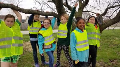 Girl Scouts Sporting New Safety Vests