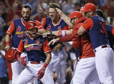 APTOPIX Rays Cardinals Baseball