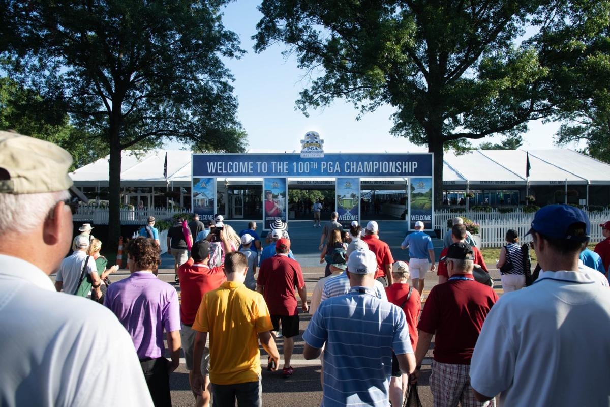 First round of 100th PGA Championship at Bellerive Country Club (copy)