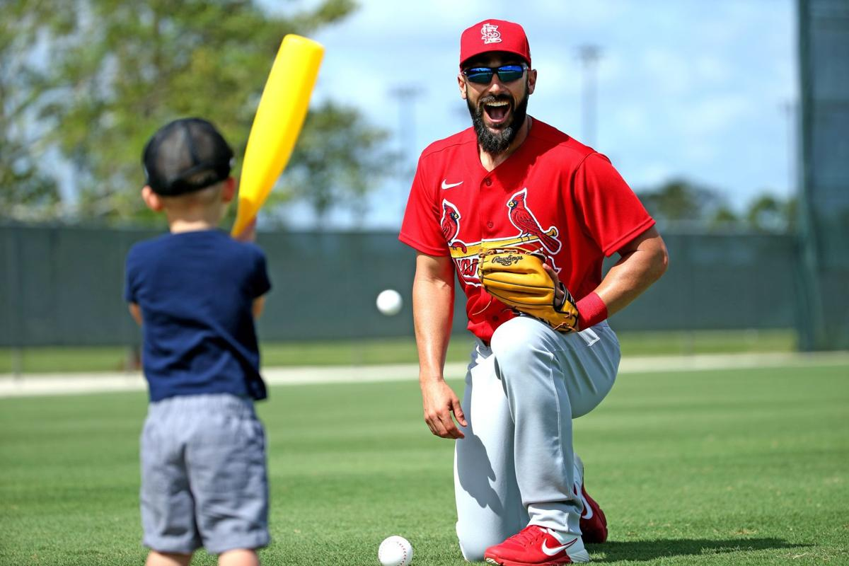 Cardinals' Carpenter works out, runs sprints, says his back is fine