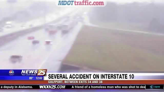 Several accidents on Interstate 10 | World | stltoday com