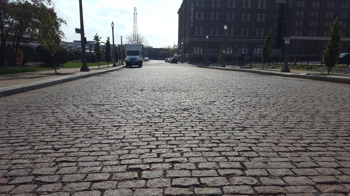 Spotlight Cobblestone Brick Streets Cling Tight To Hang