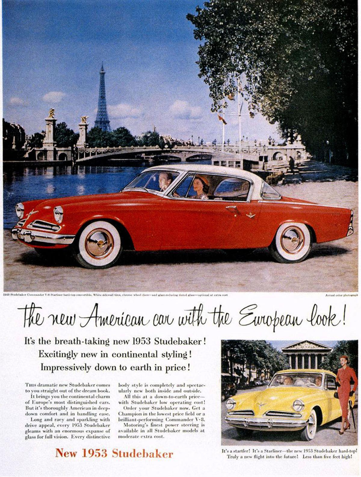 The 1953 Studebaker Commander Deluxe Starliner Coupe was sleek and Cartoon Vw Golf Car Drawings Of Volkswagen Steering Wheel Editorial Photo Dealer on
