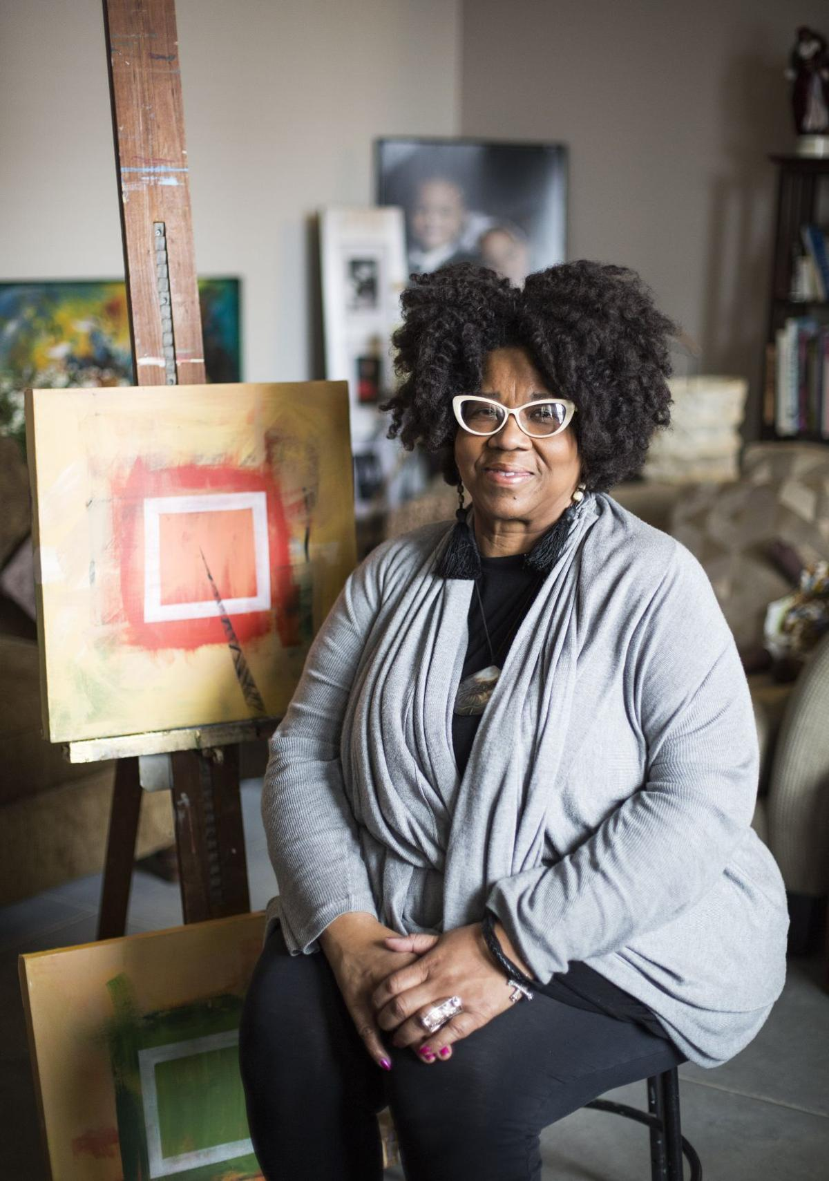 Artist gave up space for creative energy in Grand Center