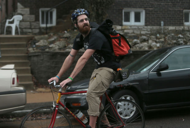 Bike delivery services proliferate around town