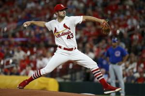 Cardinals' bullpen capsizes in Cubs' seven-run inning, but magic number creeps down to two