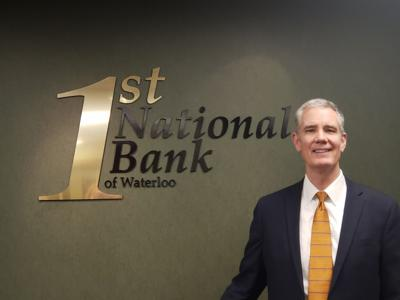 First National Bank of Waterloo Announces Rick Parks as New Bank President.