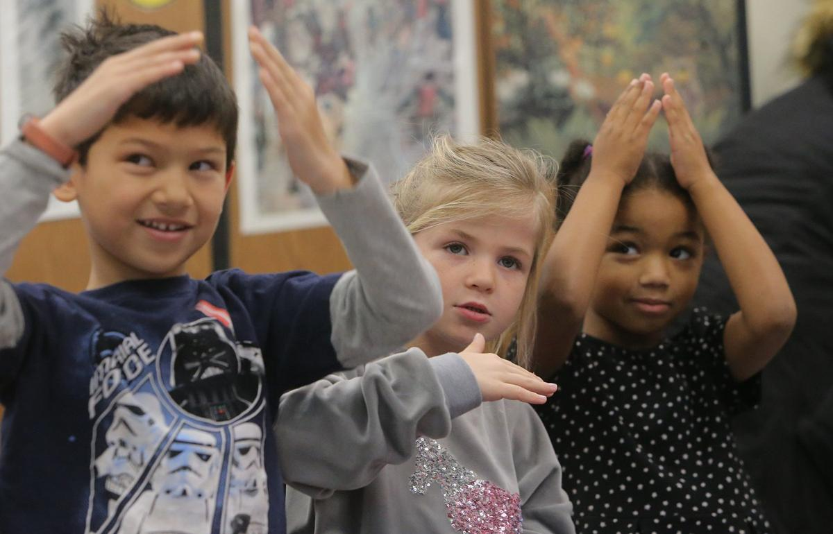 Photos: Bellerive Elementary students learn American Sign Language