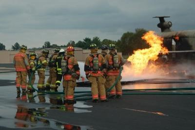 Aircraft Rescue & Fire Fighting training