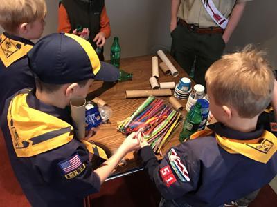 Boy Scouts STEM event