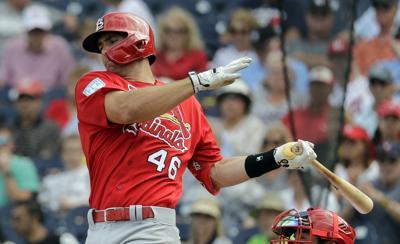 Cardinals Nationals Spring Baseball