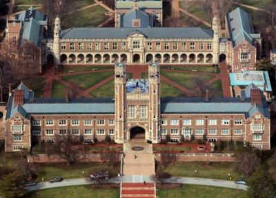 Washington University from the air