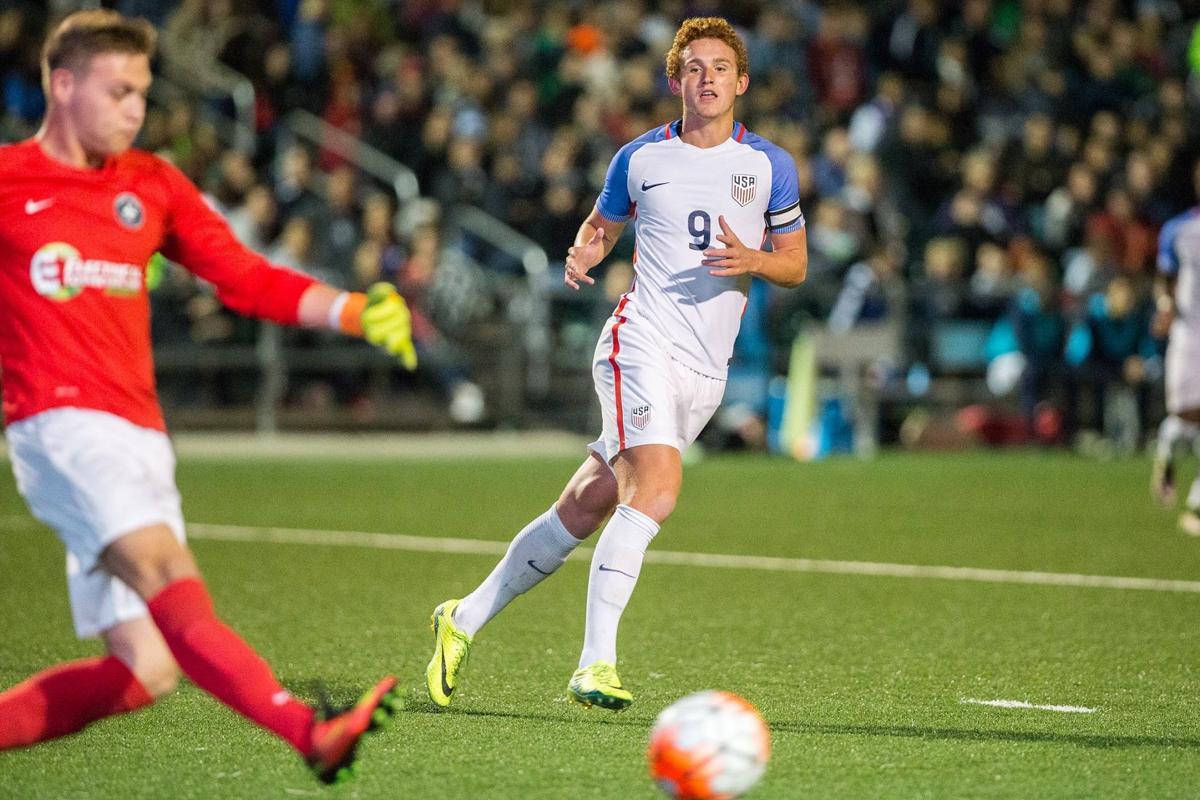U.S. Under-17 soccer Sargent