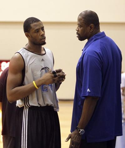 be662dc56ae6 Ewing coaching his son for Magic