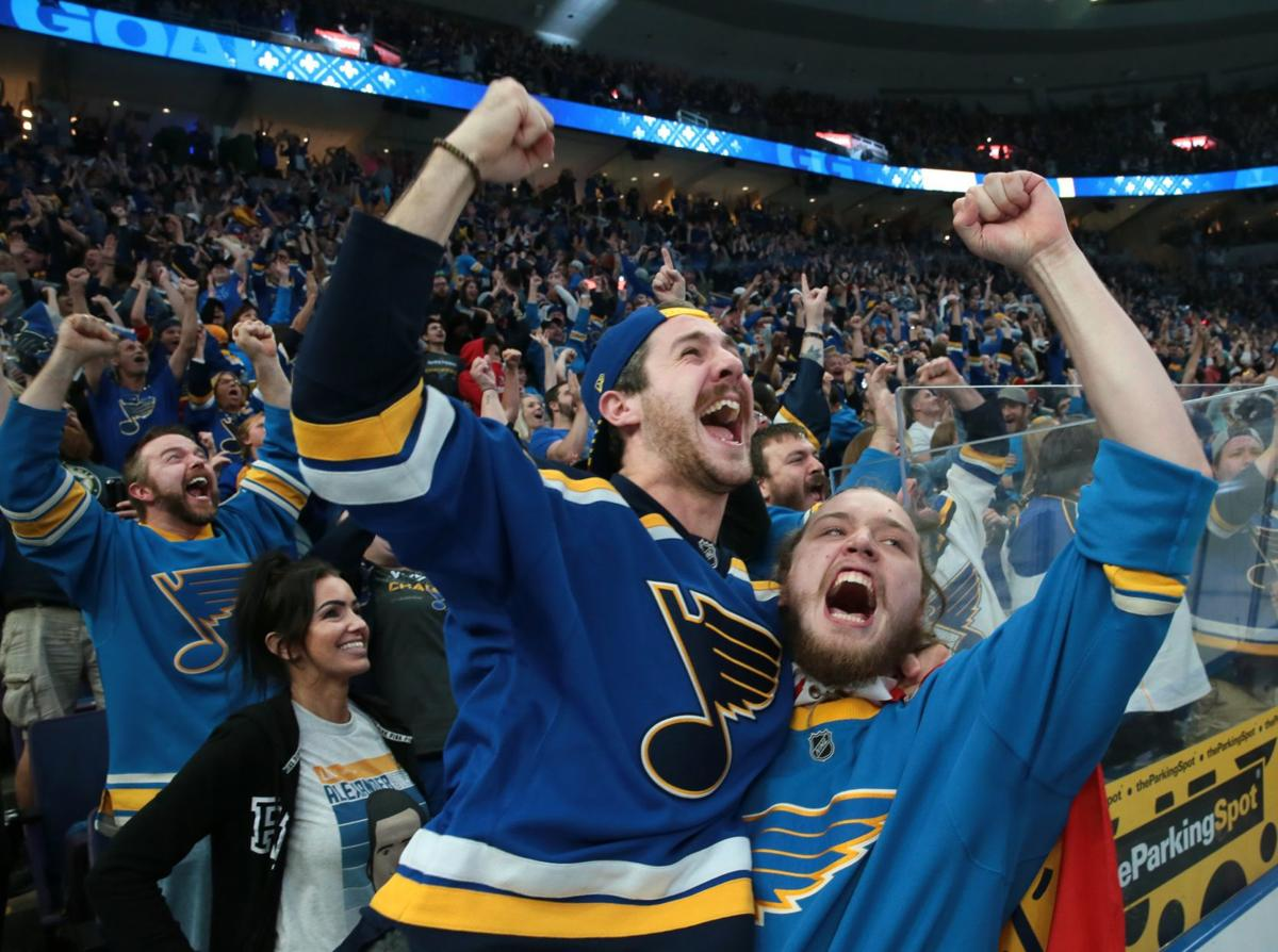 Photos: Fans watch Blues win Game 5 of the Stanley Cup Final at the Enterprise Center