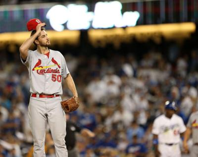 Cardinals v Dodgers, NLCS Game 3