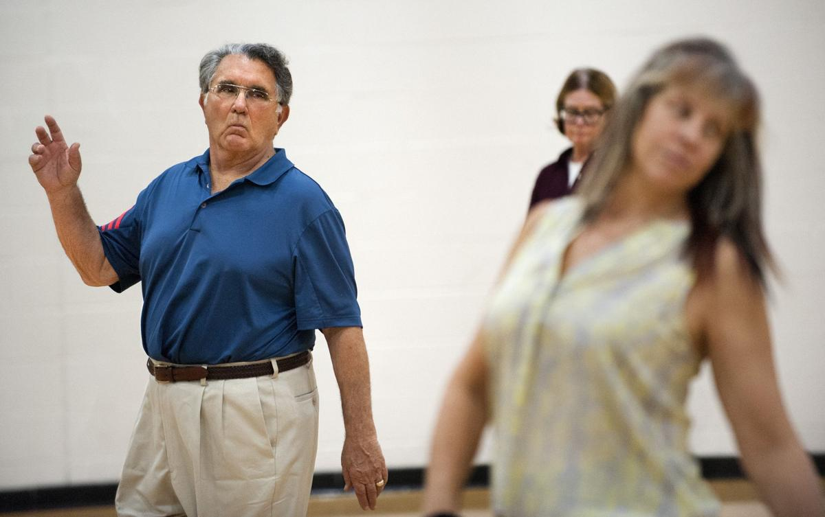 Line dancing class attracts seniors