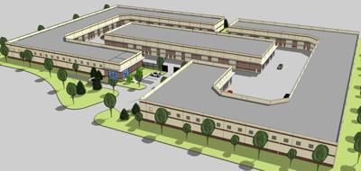 Rendering of The Place in Chesterfield