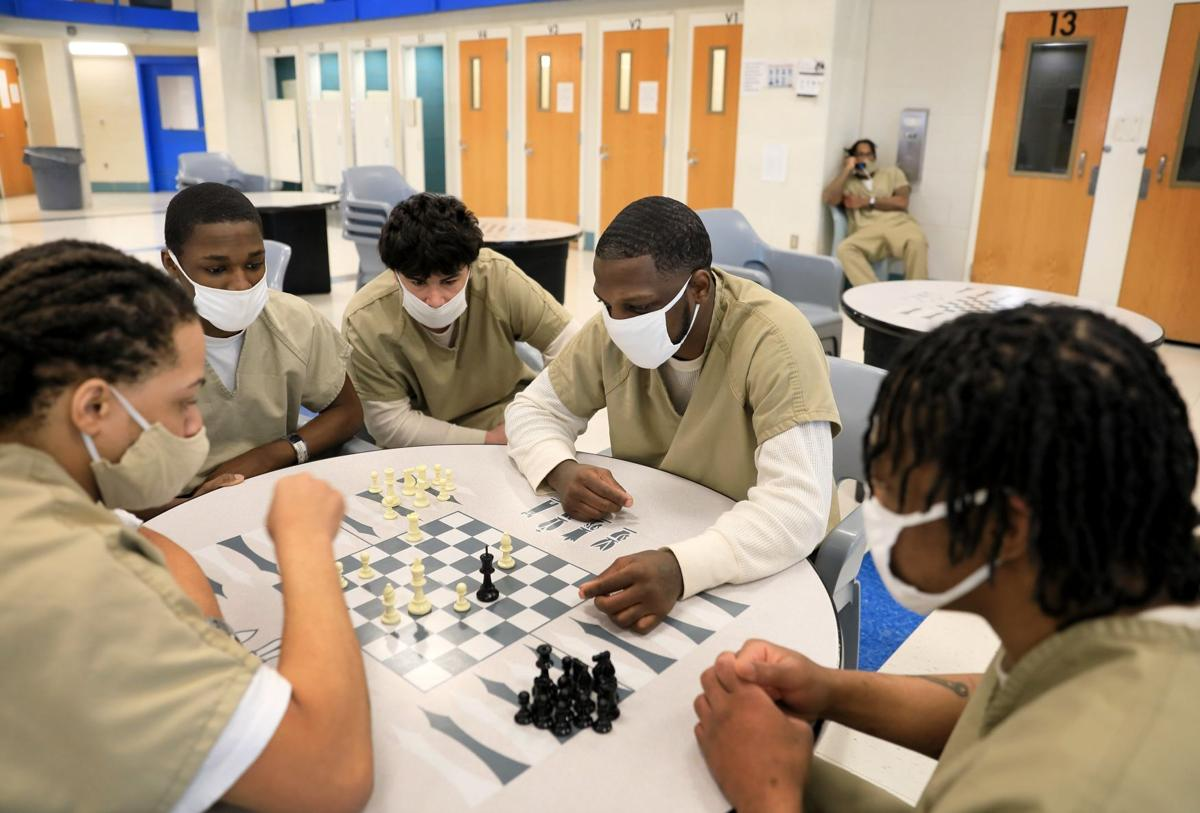 St. Louis County jail inmate chess tournament