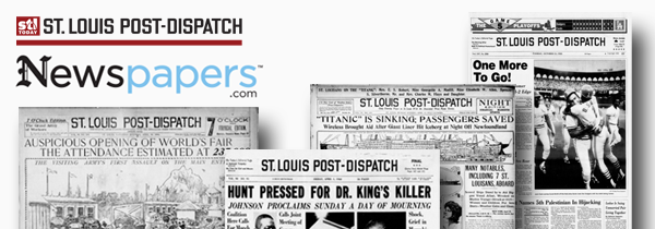 St Louis Post Dispatch Newspaper Archives Stltodaycom