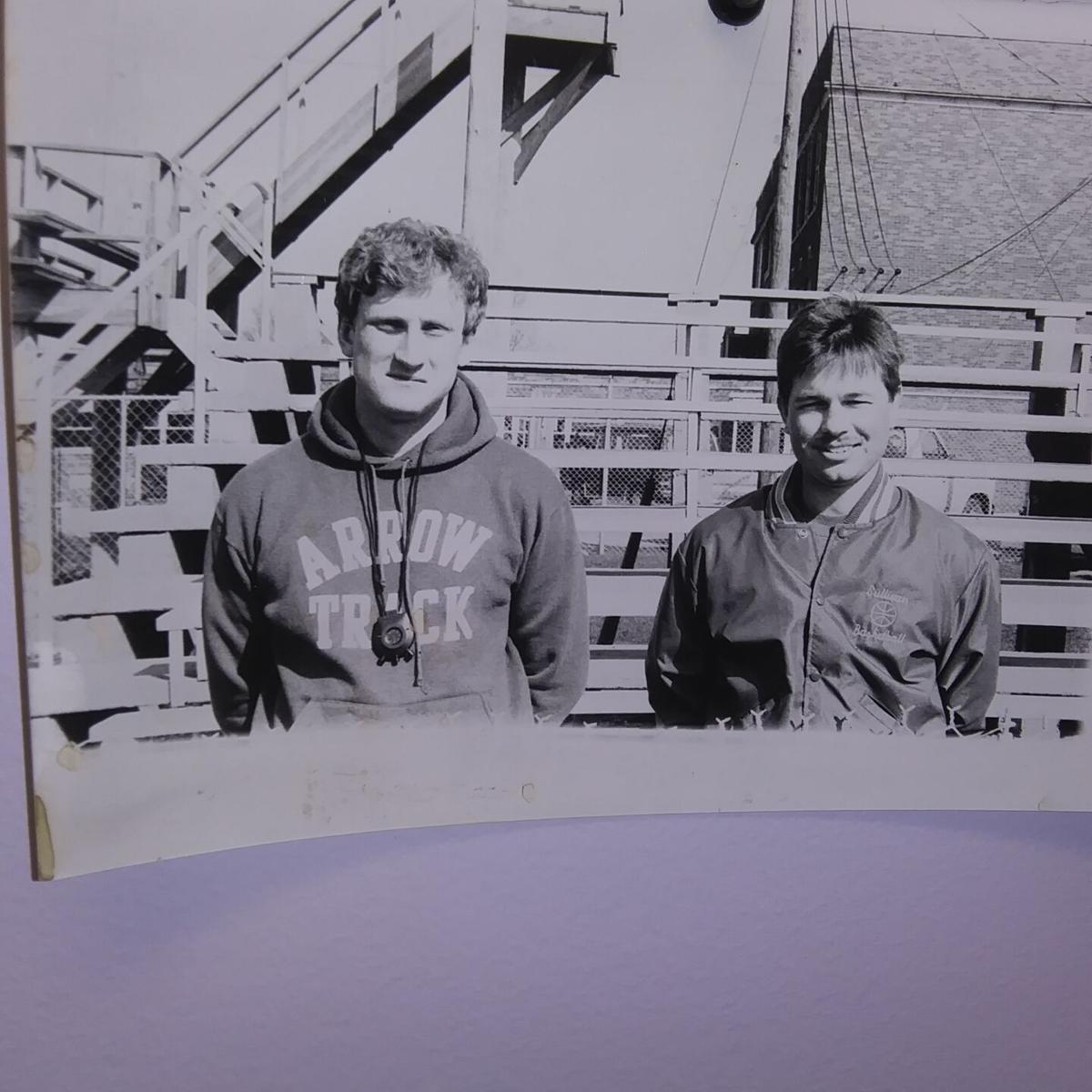SHS coaching duo in 1989