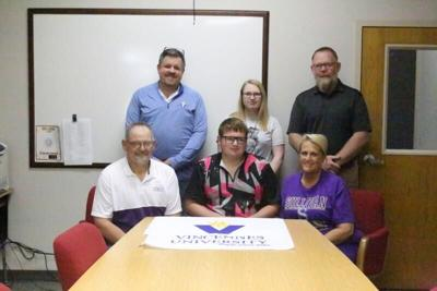 Keene signs scholarship to bowl at Vincennes University