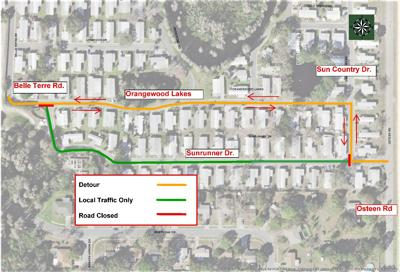 West Pasco road/infrastructure projects