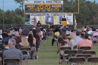 Outdoor graduations planned again for Pasco high schools