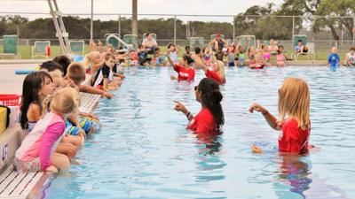 Veterans Memorial Park participating in world-wide swim lesson event