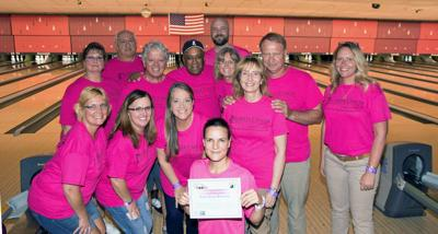 Bowling 4 Boobs benefit draws 350 participants