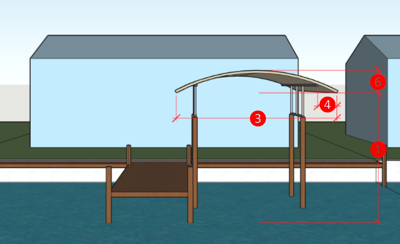 County cracking down on illegal coverings on docks