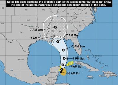Subtropical Storm Alberto brings early start to hurricane season