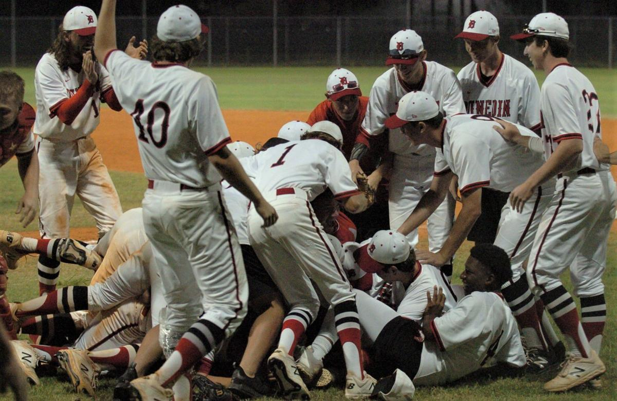 BASEBALL: Dunedin wins third straight district title