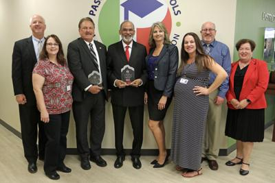 Health care leaders honored for education donations