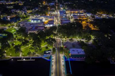 Spotlight on downtown New Port Richey, West Pasco