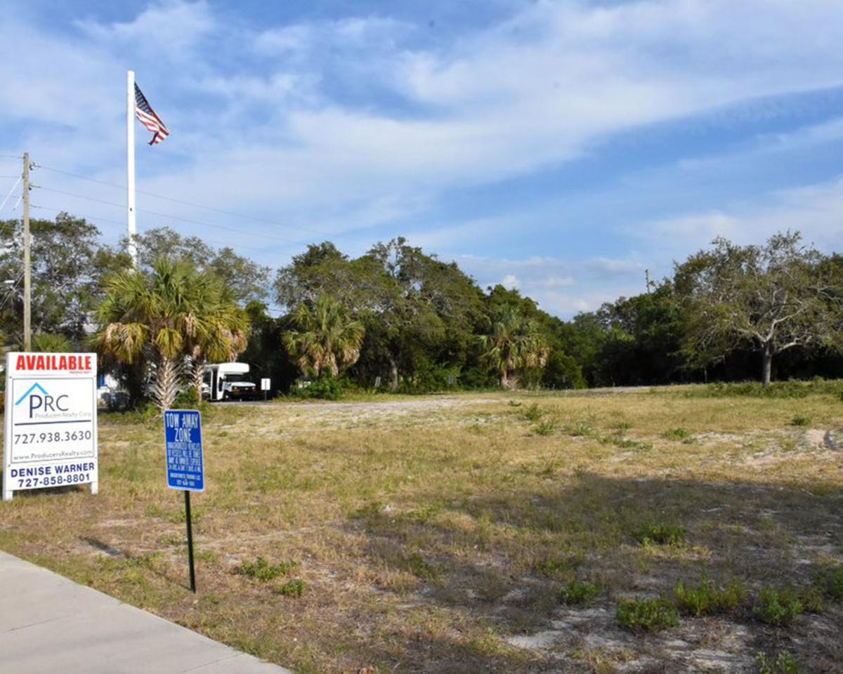 Lot on Gulf Road out as possible Tarpon fire station site