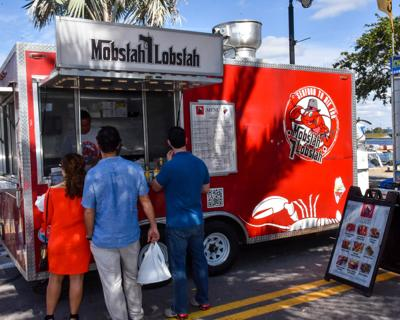 Tarpon wrangles with new food truck law