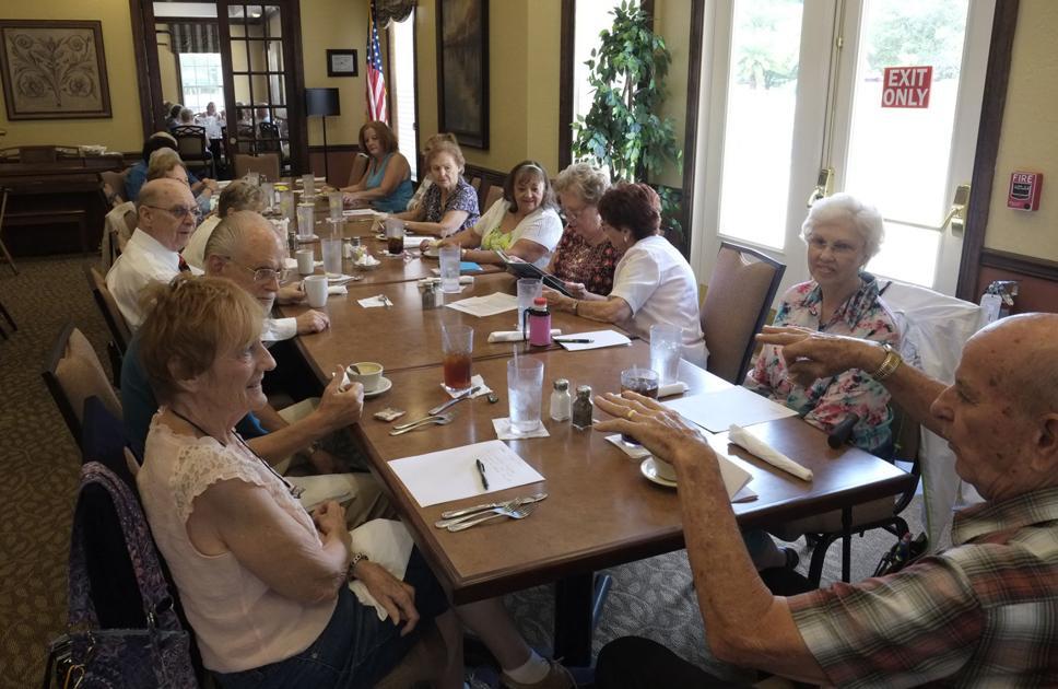 Thursday singles social group