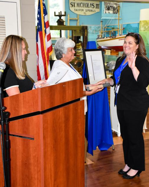 Tarpon Springs Post Office's New Leader Sworn In
