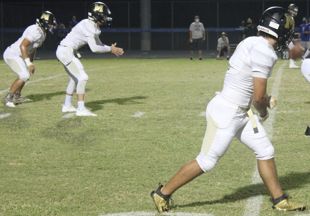 FOOTBALL: Mitchell routs East Lake