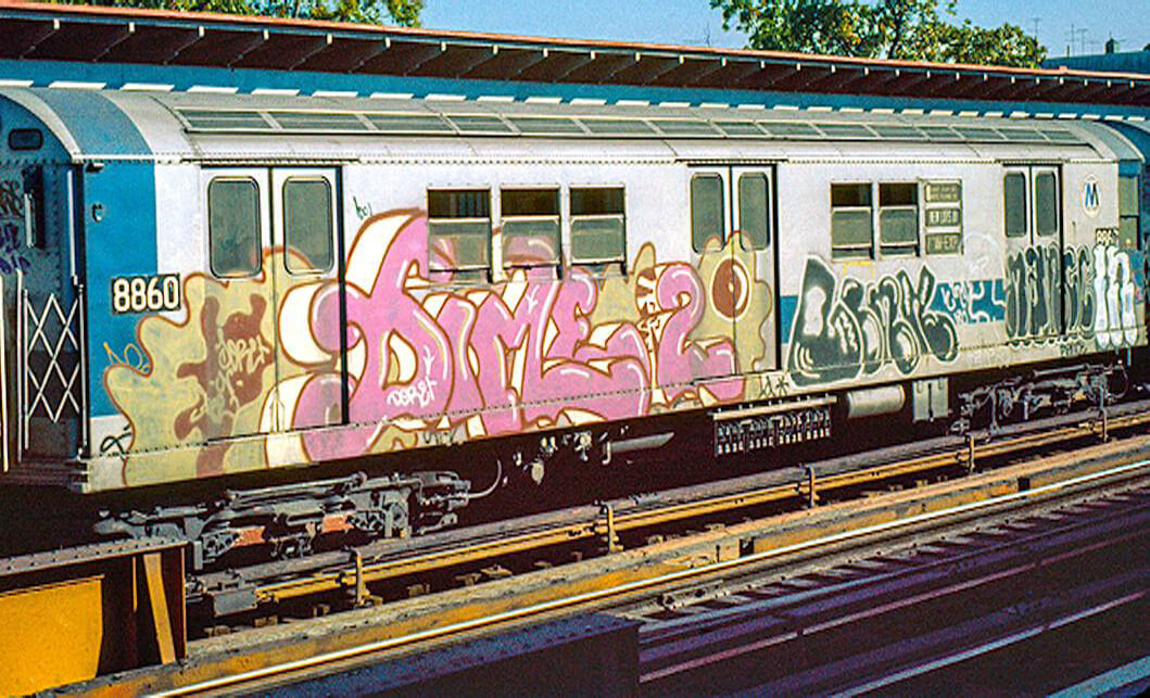 Famed New York graffiti writer seeking very big canvas