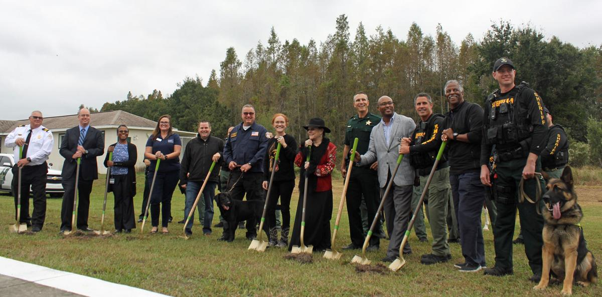 Sheriff's Office breaks ground on K-9 training complex