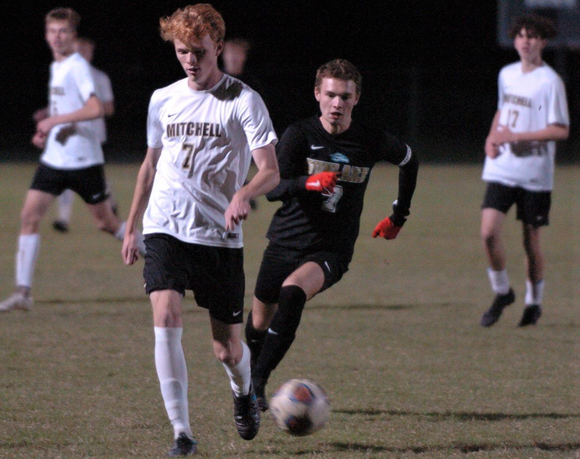 SOCCER: Mitchell fights back, ties Sunlake