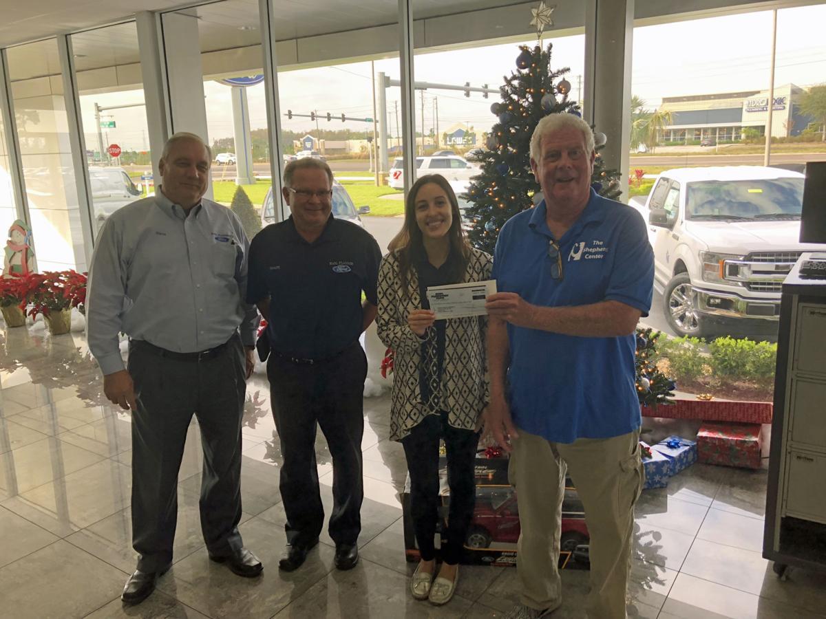 Karl Flammer Ford >> Auto dealer supports Shepherd Center   Business   suncoastnews.com