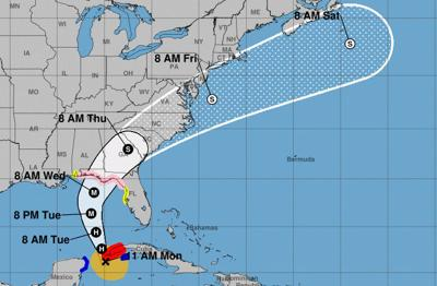 Tropical storm and storm surge watches in effect for Pinellas County