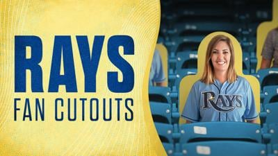 Tampa Bay Rays fans can get likeness on cutouts