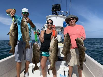 The Fishin' Report: Dropping water temps have fish fired up
