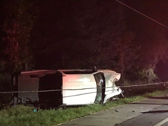 Vehicle accident on U.S. 41