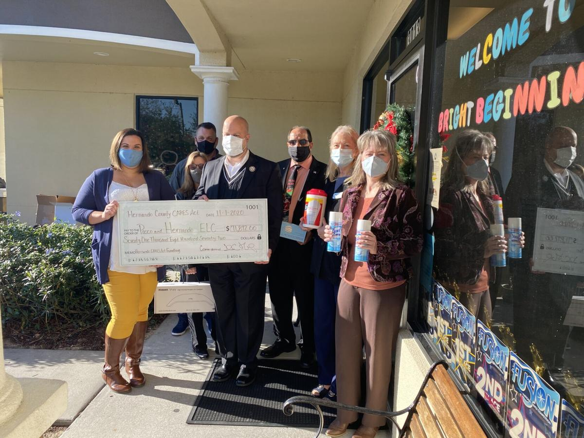 CARES Act funds supplies for Hernando, Pasco child care centers