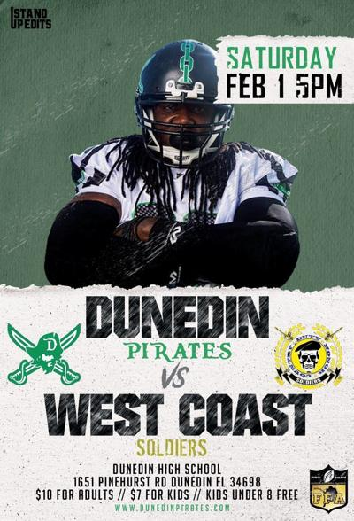 Dunedin Pirates kickoff new FFA season Feb. 1